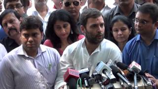 Rahul Gandhi assures support to home-buyers, slams govt's real estate bill as pro-builder