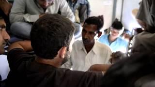Rahul Gandhi interacting with people during Punjab visit in Sachkhand Express
