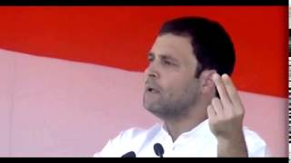 They will snatch your land, and you won't even get jobs: Rahul Gandhi