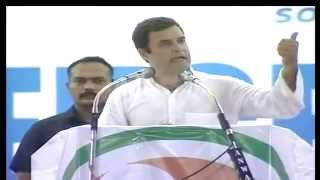 Rahul Gandhi addresses public rally in Kozhikode, Kerala