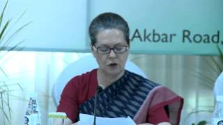 There is unprecedented centralization of power & authority (in Modi-govt): Smt. Sonia Gandhi