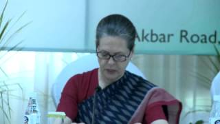 On a number of important issues the PM has made a U-turn: Smt. Sonia Gandhi