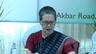 Dr BR Ambedkar's faith in democracy is one of his proud legacies to India: Smt. Sonia Gandhi