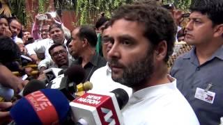 Jaha suit boot ya Aam Admi ke log inka kam nahi kar rahe, mein in logon ke sath hu : Rahul Gandhi