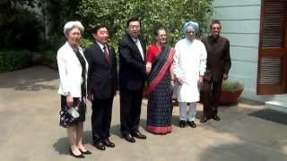 Congress President Meeting with Chinese Delegation