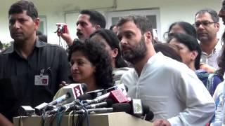 Humare PM ne kaha tha 'Na khaunga na khaane dunga' toh aap khaane kyun de rahe hain?: Rahul Gandhi