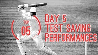 Top 5 test saving performances E01(2018)