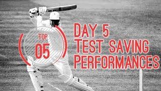 Top 5 test saving performances E01(2018)