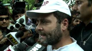 The government should implement the OROP : Rahul Gandhi