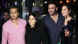 Bollywood Celebs Spotted At Yauatcha Mumbai | Riteish Deshmukh, Genelia D'Souza, Esha Gupta