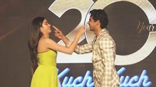 Ishaan And Jhanvi Kapoor Recreates KKHH Scene | 20 Years Of Kuch Kuch Hota Hai Grand Celebration