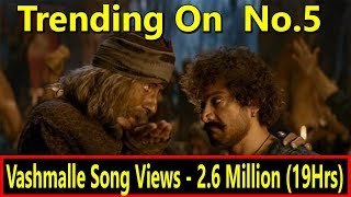 Vashmalle Song Record Breaking Views After 19 Hours I Trending On  No  5