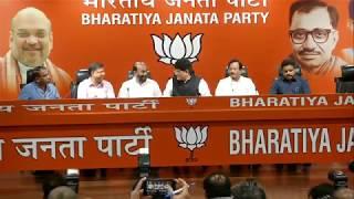 Some eminent personalities #JoinBJP at BJP Head Office, New Delhi