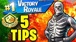 5 Tips to Win all Alpha Tournament (SOLO) Competition Matches in Fortnite Battle Royale
