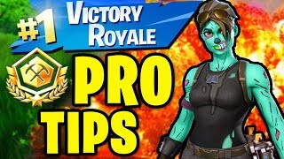5 Tips to play like a Professional to Win all Alpha Tournament Matches in Fortnite Battle Royale