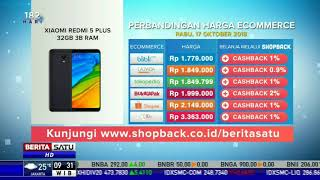 Perbandingan Harga E-Commerce: Xiaomi Redmi 5 Plus 32GB 3B RAM