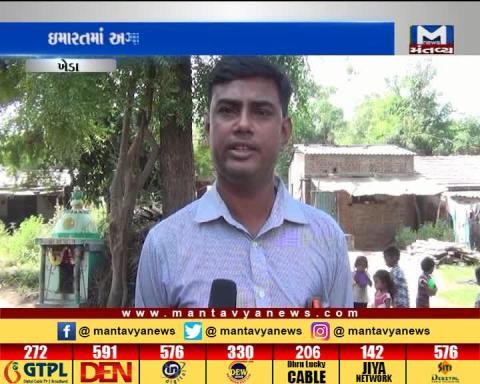 Kheda: A Dilapidated condition of Anganwadi of Khandhali village | Mantavya News