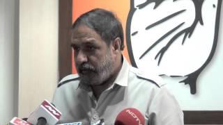 Anand Sharma addressed Media on 19 Oct, 2015