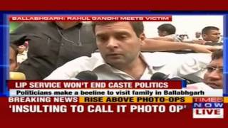 Prime Minister, Chief Minister believe that the weak can be crushed: Rahul Gandhi