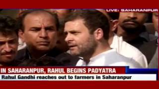 PM Modi is on foreign trip but I'm here with you : Rahul Gandhi