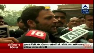 Public Pressure Forced Modiji to talk to the Opposition : Rahul Gandhi