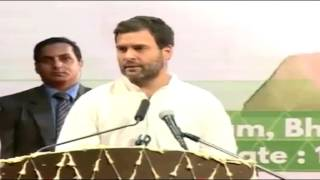 Congress VP Rahul Gandhi on Women Empowerment