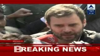 Congress VP Rahul Gandhi assures all help to Shakur Basti residents