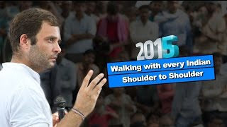 Walking with every Indian Shoulder to Shoulder