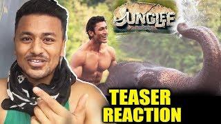 Junglee Teaser   Review   Reaction   Vidyut Jammwal, Chuck Russell