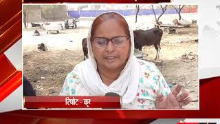 फाज़िल्का -  अनाज मंडी में पराली से फैलाया जा रहा है प्रदूषण - tv24