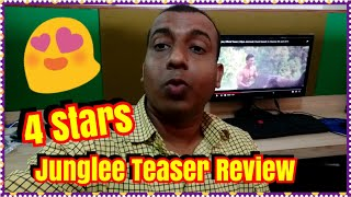 JUNGLEE Teaser Review l Vidyut Jammwal