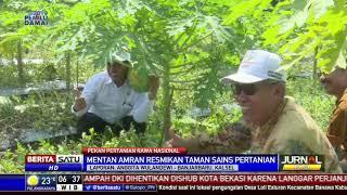 Mentan Resmikan Taman Sains Pertanian di Banjarbaru Kalimantan Selatan