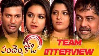 Pandem Kodi 2 Movie Team Funny Interview   Keerthy Suresh   Vishal   Vara Lakshmi
