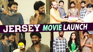 JERSEY Movie Opening | Nani JERSEY Movie Launch | Natural Star Nani | Trivikram | Top Telugu TV