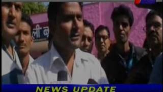 jantv boondii protest against  Councillor on maul to nursing staff news