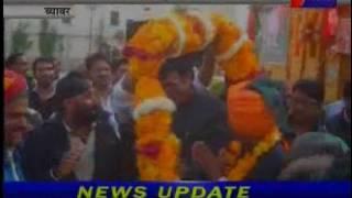 ग्रामीण एवं पँचायति राज मंत्री राठोड़ का व्यावर दौरा। Pachayti Raj Minister