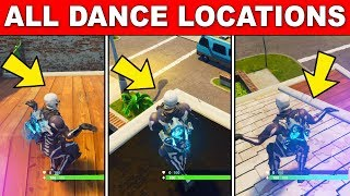 Dance on top of a Clock Tower Stage 1 - Dance at different locations - WEEK 4 CHALLENGES FORTNITE