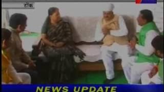 मुख्यमंत्री राजे का टोंक दौरा। Chief Minister Raje visited Tonk.