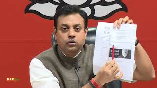 "Congress is running a paid campaign of ""Modi Hatao"" on Facebook is a serious matter: Dr.Sambit Patra"