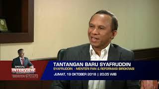 Promo Special Interview With Claudius Boekan: Tantangan Baru Syafruddin