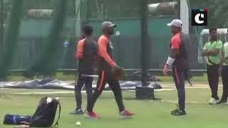 Team India sweat it out ahead of match against West Indies
