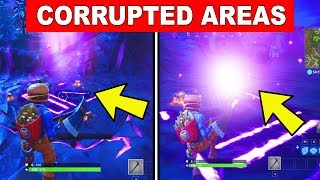 Eliminate Opponents near any of the CORRUPTED Areas  - WEEK 4 CHALLENGES FORTNITE SEASON 6