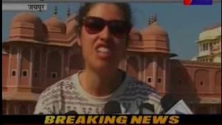 जयपुर, पतंग उत्सव के आगाज मे शामिल पूर्व राजपरिवार। Royal family participted in kite festival
