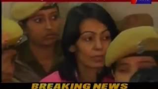 लेडी डॉन अनुराधा को जयपुर SMS hospital मे लाया गया,  Lady DON Anuradha in Jaipur SMS Hospital