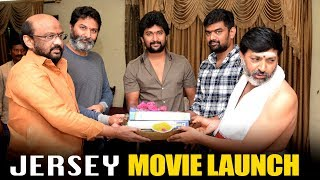 Natural Star Nani's Jersey Movie Launch by Trivikram - Bhavani HD Movies