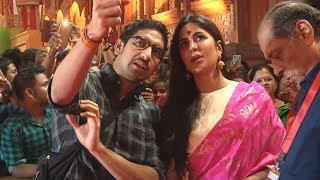 Katrina Kaif At Maha Navmi Puja At North Bombay Sarbojanin Durga Puja 2018