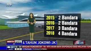 4 Tahun Jokowi-JK Menghasilkan 11 Bandara Baru