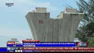 Jalur Layang Kereta Medan-Bandara Kualanamu Sudah 95 Persen