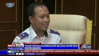 Proyek Kereta Api Trans Sulawesi Sudah 90 Persen