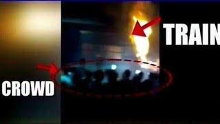 LIVE - देखिये कैसे हुआ अमृतसर ट्रेन हादसा || आखिर कौन है जिम्मेदार !